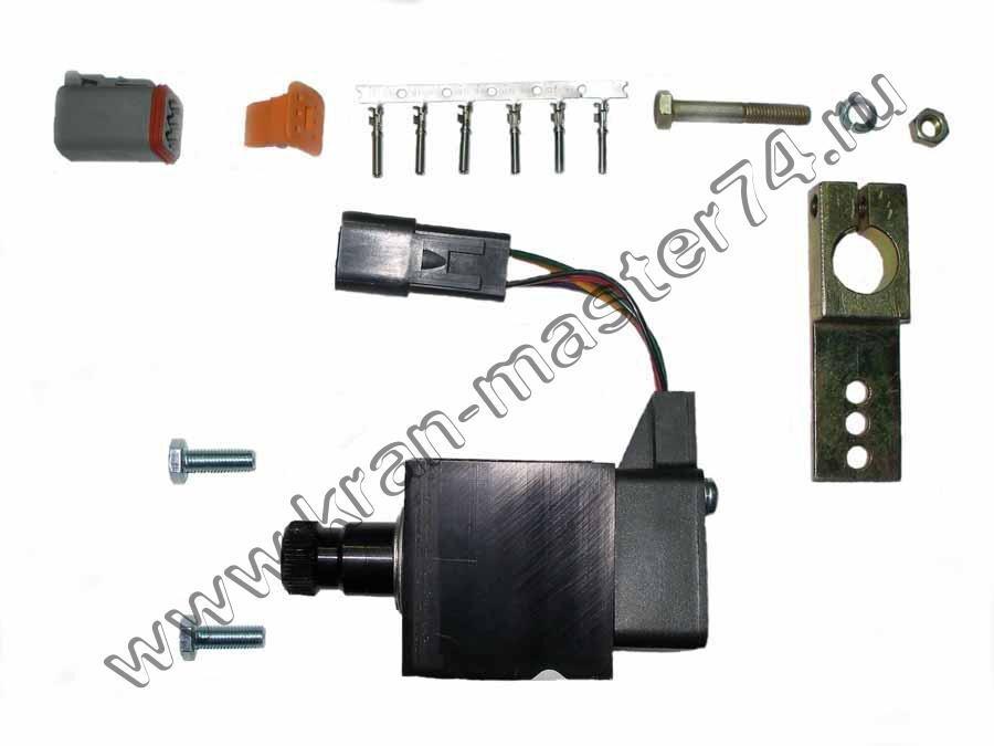 Дистанциооное управление подачей топлива для автокранов Ивановец  КС-35714, КС-35715,КС-45717