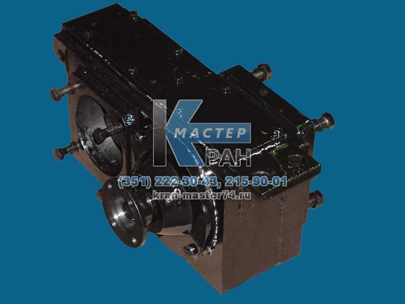 Коробка отбора мощности (КОМ) КС-55713-6.14.100 (шасси МАЗ) автокрана Галичанин КС-55713, КС-55715, КС-55721, КС-55729