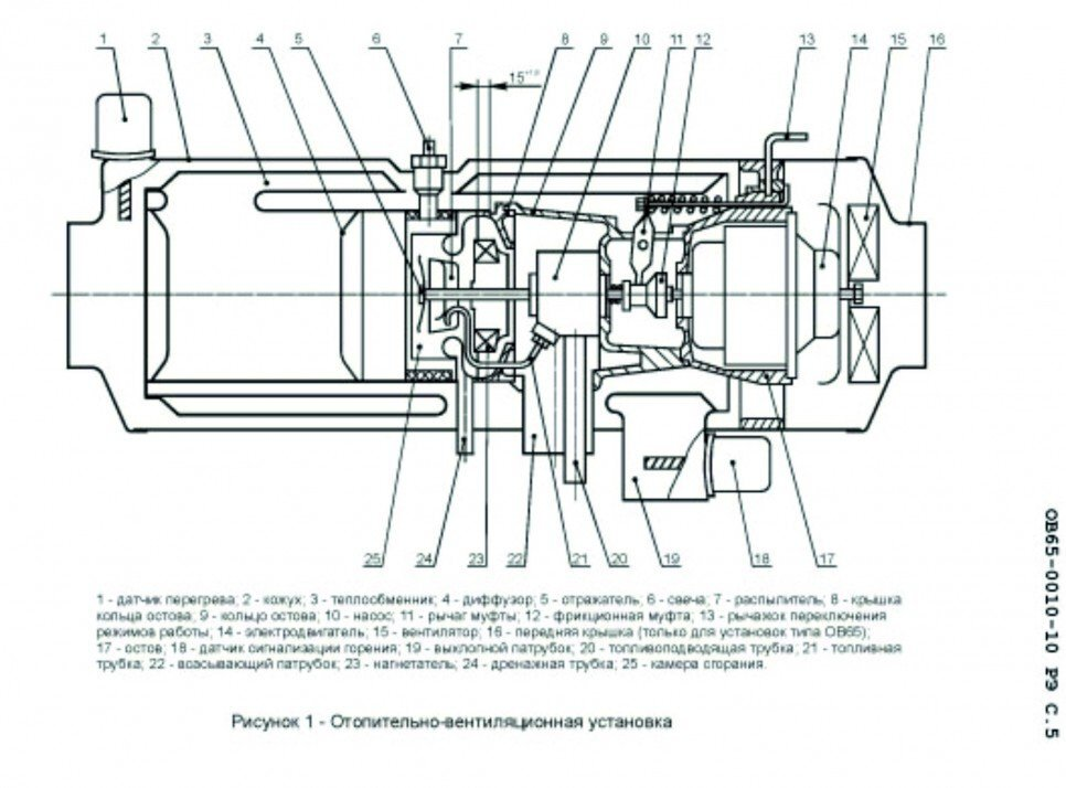 диффузор 4 и камера сгорания