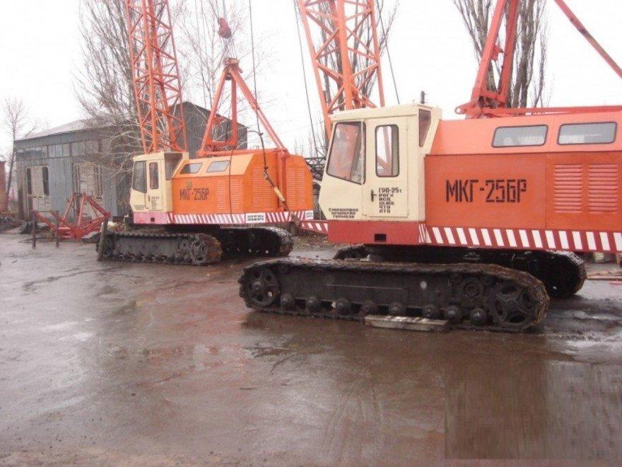 Продаем гусеничные краны МКГ-25, МКГ-25 БР, МКГ-25.01, МКГ-40, после проведения полного капитального ремонта