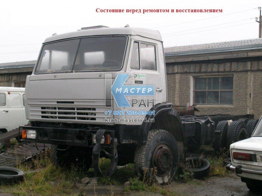 Автокран КС-55713 Галичанин-25т.перед ремонтом и восстановлением