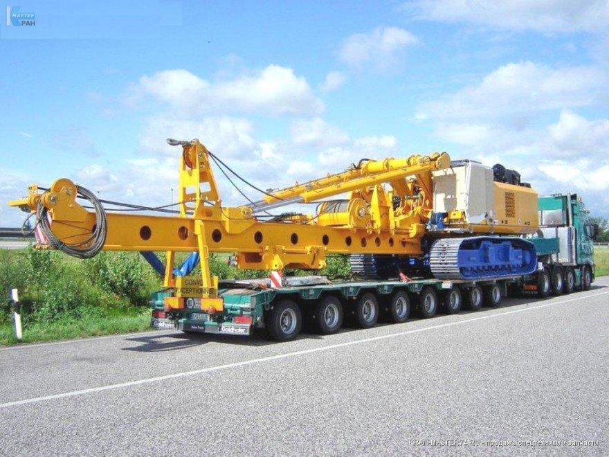 Транспартировка крана гусеничного ДЭК-321 ЧЕЛЯБИНЕЦ грузоподъемность 32 тонн