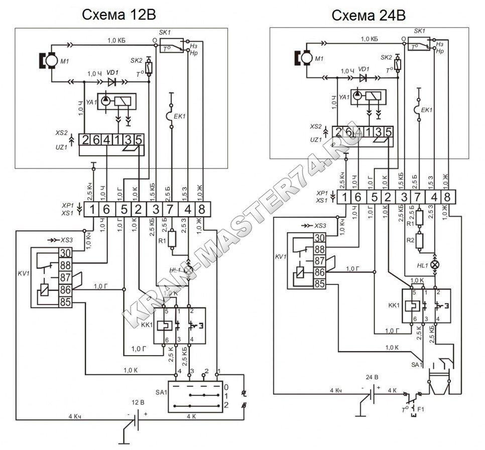 кс-3577 схема электрическая
