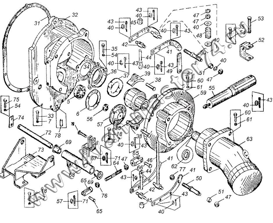 Механизм поворота КС-3577.28.