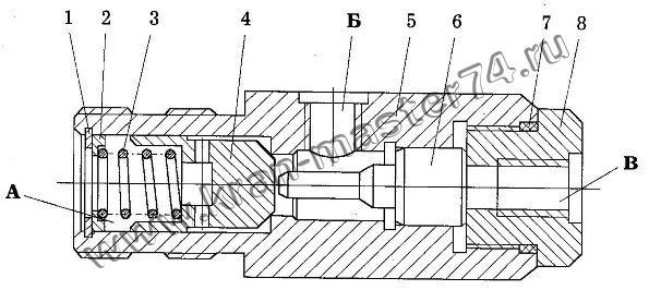 Гидрозамок КС-4572А.84.380